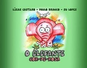 Livro digital O elefante cor-de-rosa busca leitura inclusiva