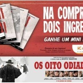 Kinoplex D. Pedro lança promoções para O Bom Dinossauro e Os Oito Odiados