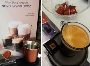 Envivo Lungo é destaque nas boutiques Nespresso