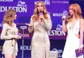 Koleston reúne Ivete Sangalo e Sabrina Sato para apresentar coleção